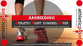 Aanbieding Athletic Point Zomerklapper